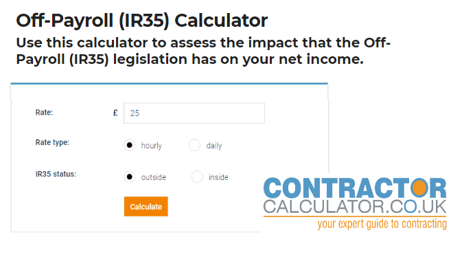 Off-Payroll (IR35) Calculator - How much does Off-Payroll cost you?